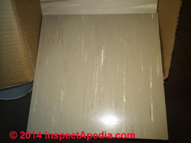 Kentile Buckskin Marbelized Asbestos Floor Tile Photos