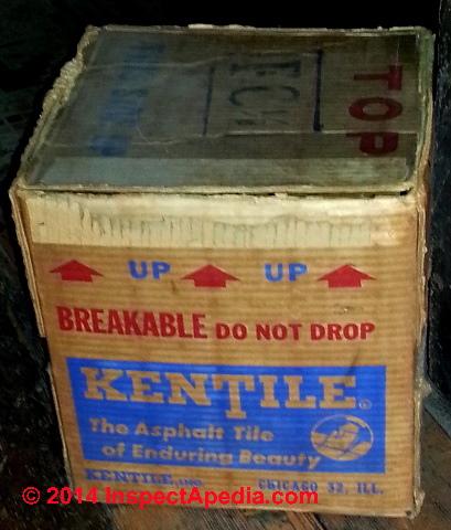 Kentile Vinyl Asbestos Floor Tiles 1900 1986