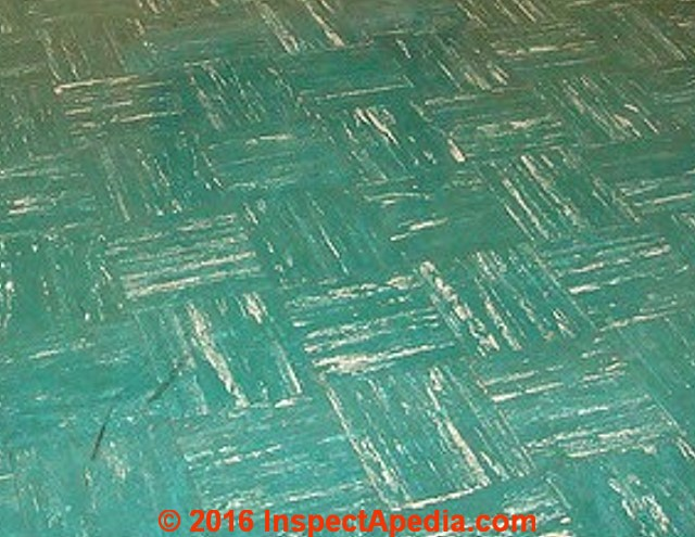 Kentile Kenflex Vinyl Asbestos Floor Photographs