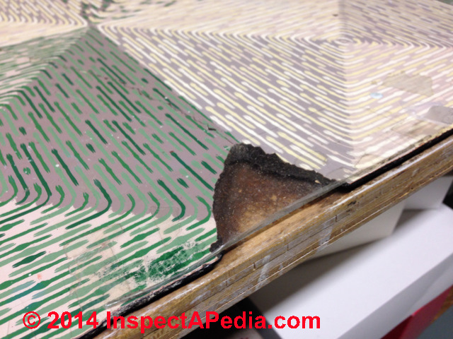 Inspect Test To Identify Sheet Flooring That May Contain Asbestos