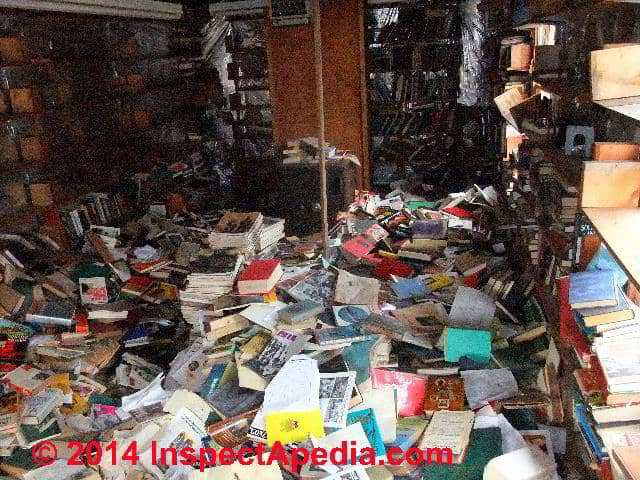 hoarding hazards health fire safety hazards from hoarding behaviour in buildings too much. Black Bedroom Furniture Sets. Home Design Ideas