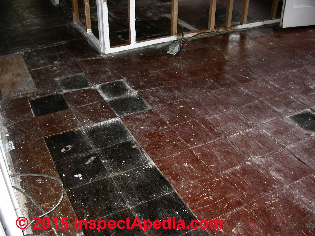 Asbestos Flooring Hazard Levels - Percentage of asbestos in floor tiles