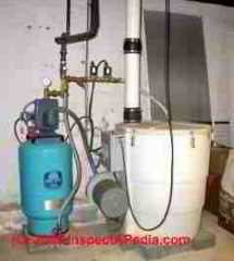 Radon in water treatment system  (C) InspectApedia