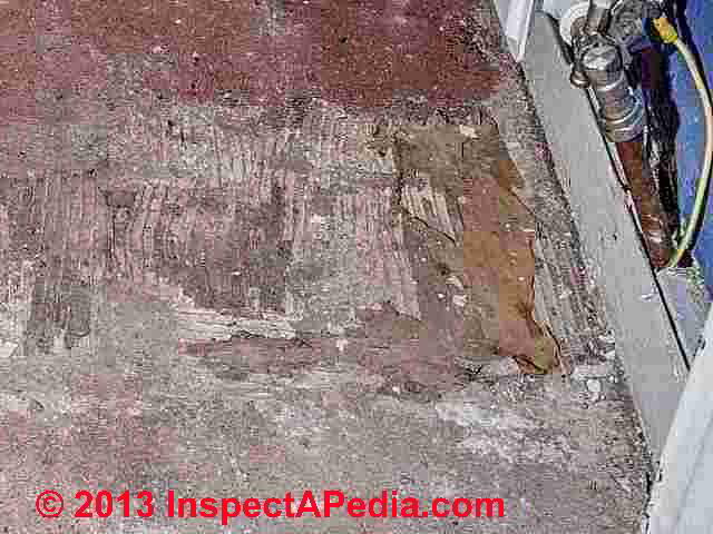 Remediation Methods For Asbestos Tile Mastics Cutback