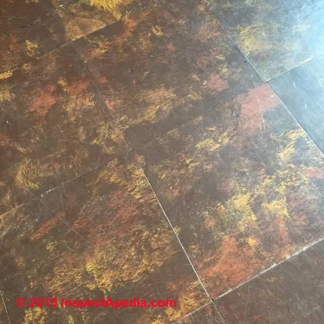identify u k floor tiles that may contain asbestos asbestos flooring in england scotland. Black Bedroom Furniture Sets. Home Design Ideas