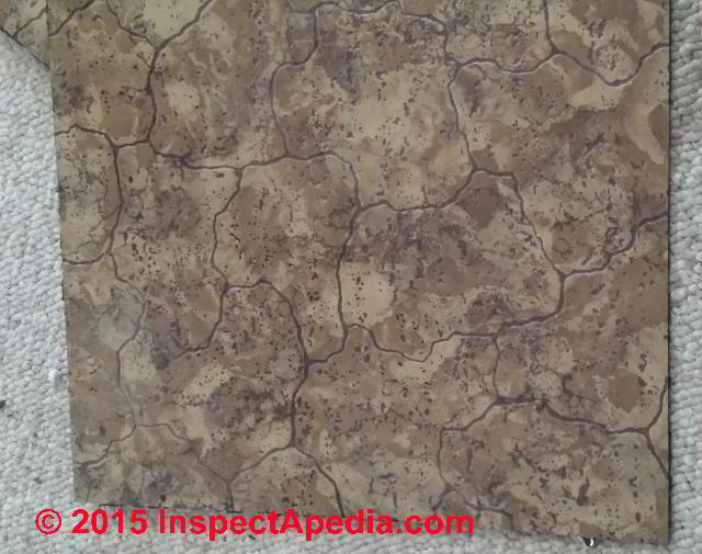Floor Tiles That May Contain Asbestos