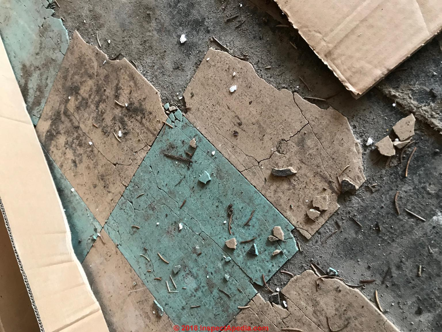 Armstrong Amp Other Asbestos Floor Tile Identification