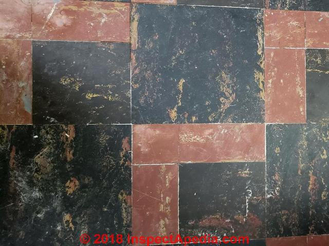 Asbestos Floor Tile FAQs-4 How to identify asbestos