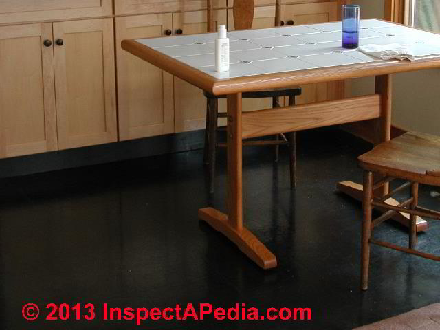 Vinyl Asbestos Tile Kitchen Floor C Daniel Friedman