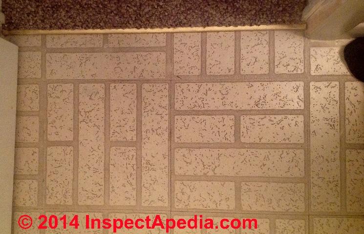 armstrong white brick floor tile no asbsestos c jfc