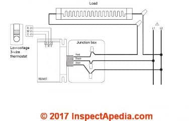 AUBE RC840T Switching Relay 24v nest wirings aube 240 volt thermostat wiring diagram gandul 45 77 79 119 24a01g-3 wiring diagram at webbmarketing.co