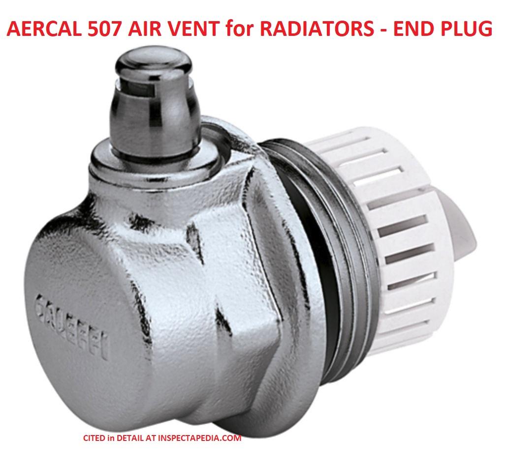 Radiator Air Vent Repair Q&A Help Fix Or Replace Leaky Air