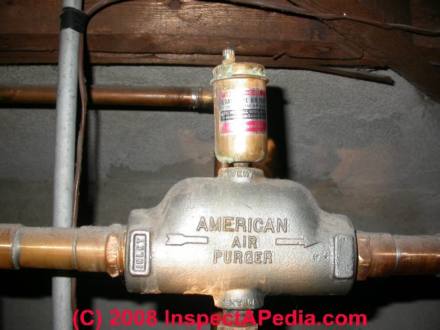 Definition Amp Function Of Hot Water Heat Air Bleeder Valves