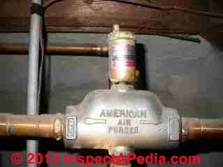 Guide To Air Bleeder Valves On Heating Systems Heating