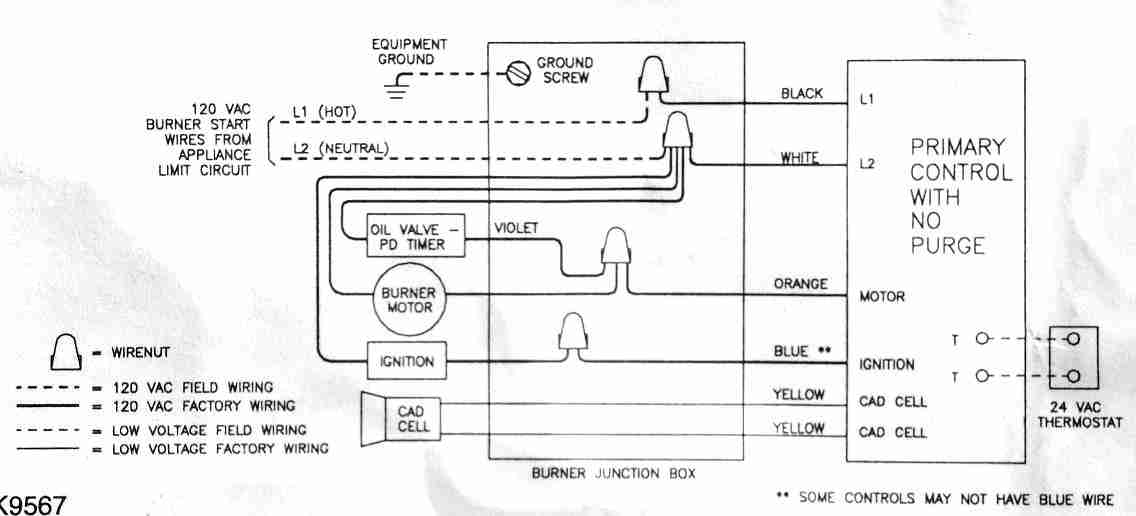 Oil Quick Stop Valves on honeywell primary control wiring diagram