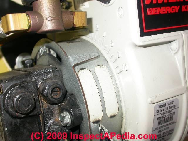 """Beckett oil burner air shutter adjustment (C) Daniel Friedman """""""
