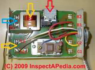 heating boiler aquastat control diagnosis  troubleshootingHoneywell L8124A Wiring-Diagram