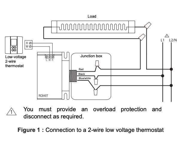 Fine Convert Line Voltage Thermostat To Low Voltage Nest Wiring 101 Photwellnesstrialsorg