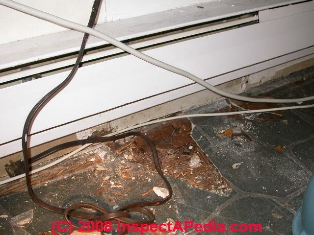 Electric heating system defects list home inspection for Electric heating system for house