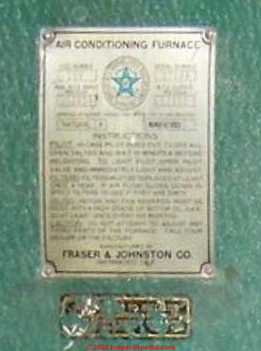 [DIAGRAM_3NM]  Fraser Johnston Furnace Age, Manuals, Parts Lists, Wiring Diagrams / Fraser  Johnson Furnaces | Fraser Johnston Furnace Wiring Diagram |  | InspectAPedia.com