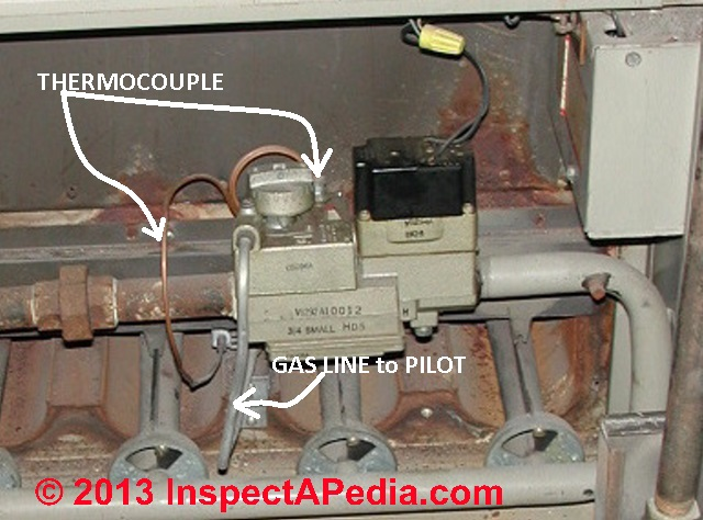 Gas Flame Thermocouple Sensors Troubleshooting & Replacement