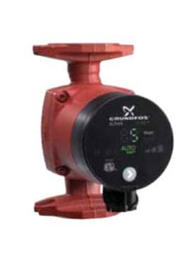 Grundfos Alpha variable speed heating zone circulator pump (C) Grundfos InspectApedia
