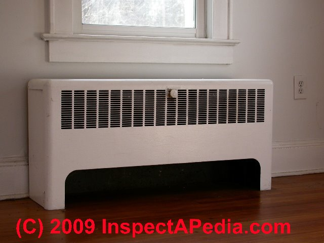 Wall Heating Units : Wall convectors for air conditioning heating