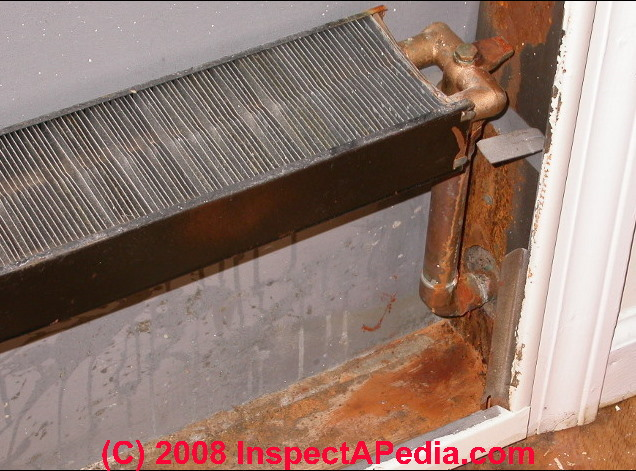 how to clean baseboard pipes inside
