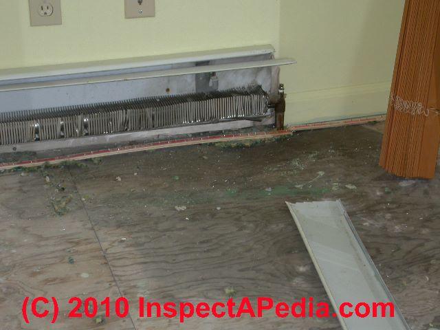 heating baseboard defects - Hydronic Baseboard Heaters