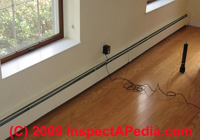 Baseboard Heat Inspection Repair Maintenance - Under floorboard heating
