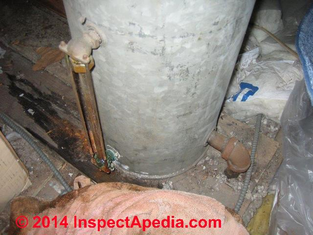 Attic Expansion Tanks Amp Header Tanks Identify