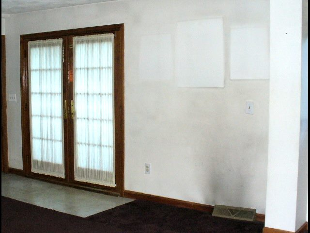 Hvac Dust Or Soot Stains On Indoor Walls Amp Ceilings