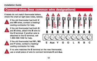 How wire a honeywell room thermostat honeywell thermostat wiring honeywell rth3100c thermostat wiring summary see the installation manual for details or call honeywell cheapraybanclubmaster Images