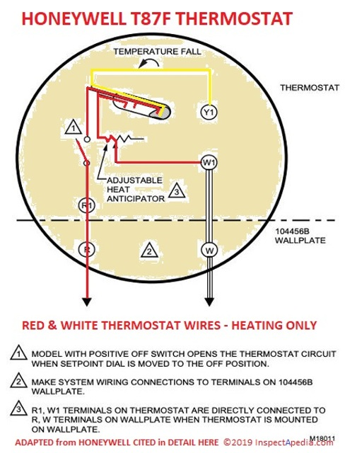 T87 Thermostat Wiring Diagram