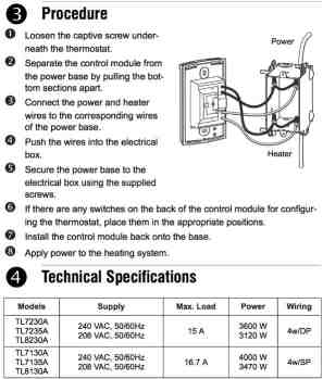 Line Voltage Thermostats for Heating amp Cooling