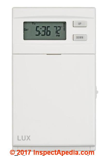 LUX ELV4 Thermostats convert line voltage thermostat to low voltage nest lux 500 thermostat wiring diagram at mifinder.co
