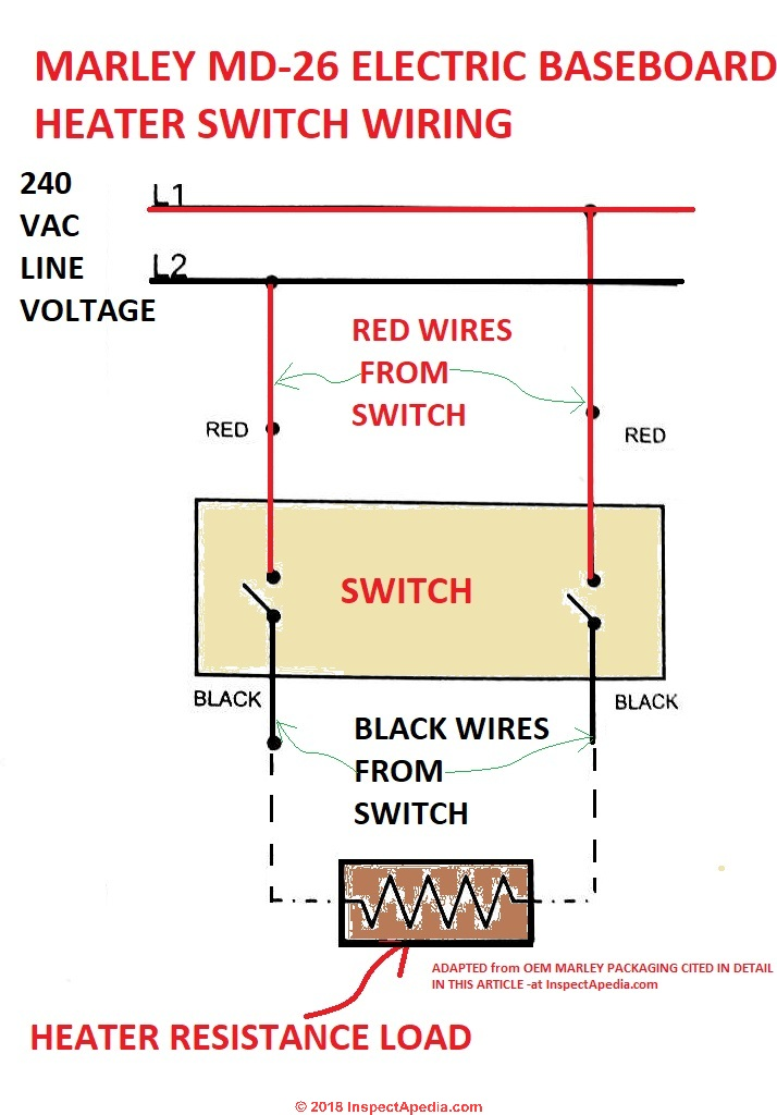 240 Volt Thermostat Wiring Diagram - Collection