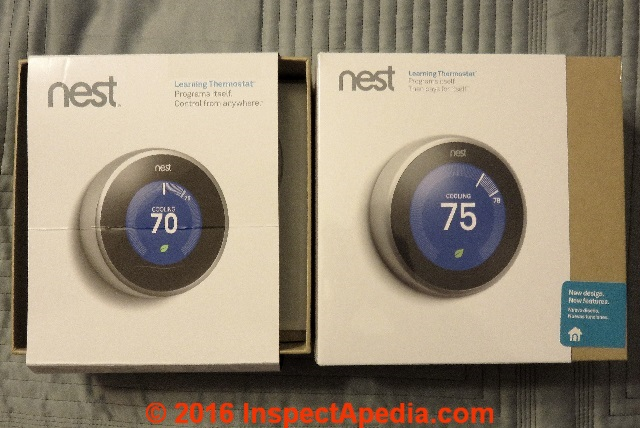 Nest Learning Thermostats Nest 2 Versus Nest 3 What S