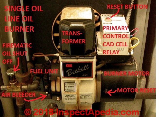 Oil Burner Piping Air Removal Air Bleeding Procedure