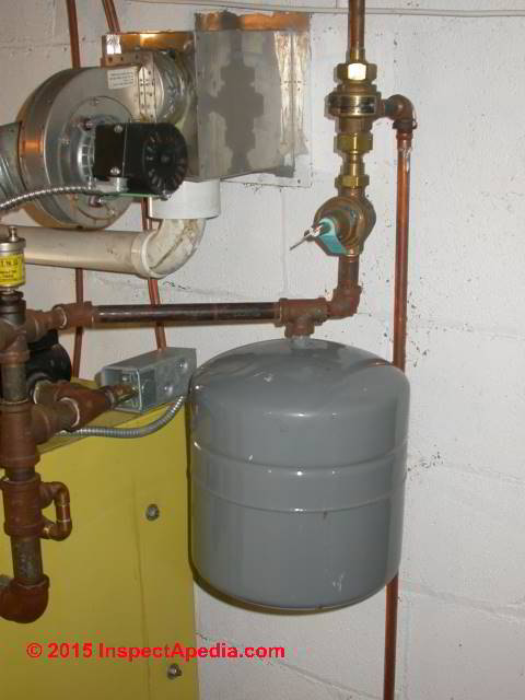 Heating Boiler Expansion Tank Pressure Adjustment. When & how to set ...