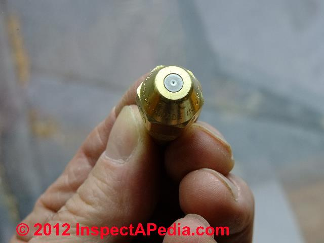 Universal Hollow Cone A Replacement Oil Nozzle 1.65 GPH 90 Degree Spray