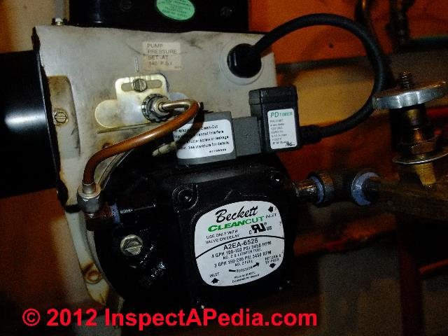 Oil Line Vacuum Gauge Heating Oil Piping Vacuum