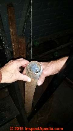 Original DC electrical wires from beneath New York City Streets (C) Daniel Friedman