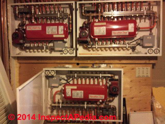 Air Bound Radiant Heating System Zones How To Diagnose