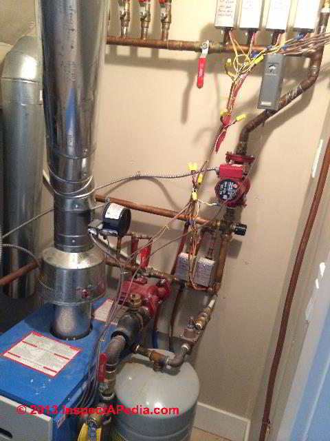 Radiant Heat System Controls Definitions Terms