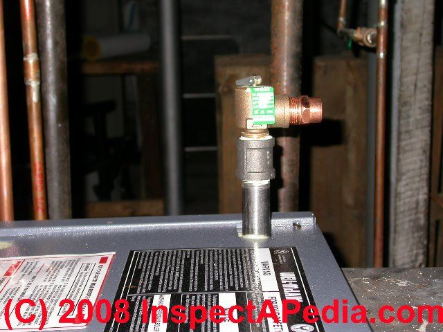 Guide To Temperature Amp Pressure Relief Valves Used On