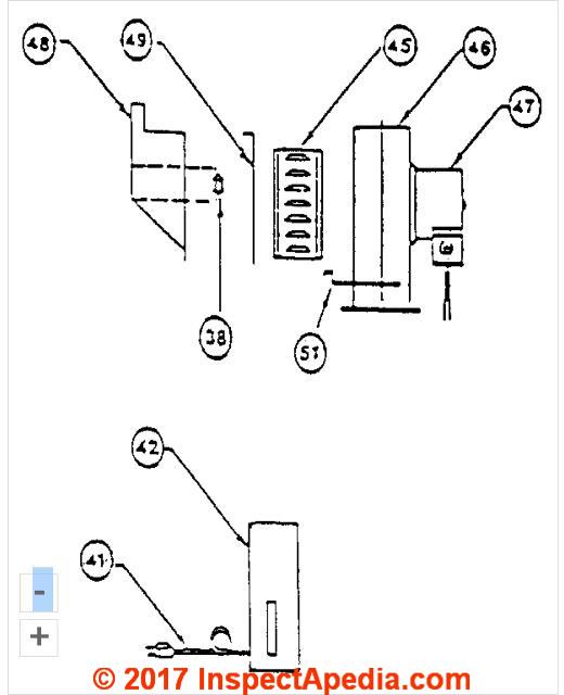 electric hot water heater part diagram