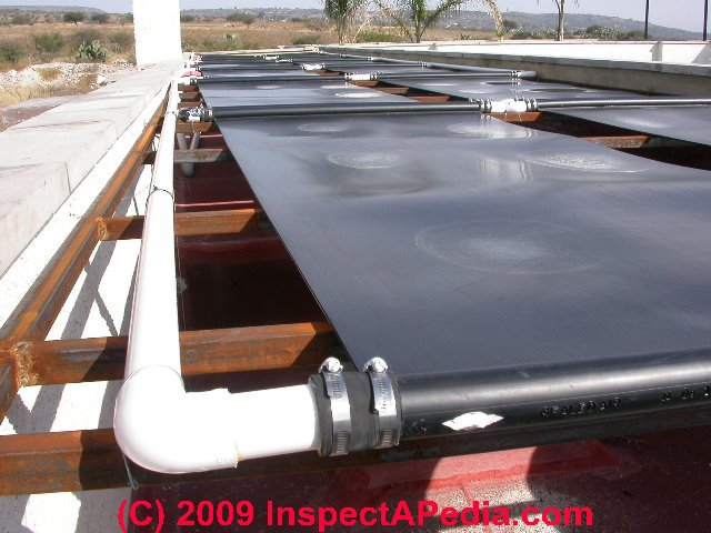 Swimming Pool Heater Guide Buy Install Troubleshoot Repair Diagnosing Why A 16 Panel Solar