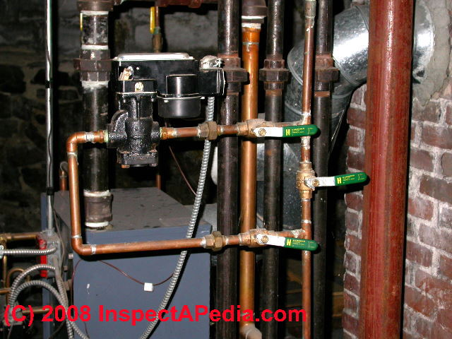 Steam boiler Automatic & Manual Water Feeder Valves