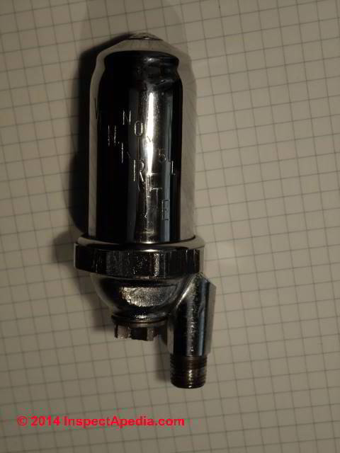 clean steam radiator valve stuck